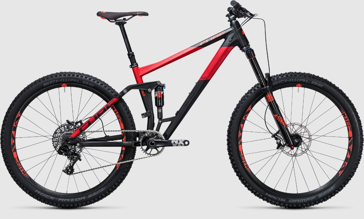 Cube Stereo 160 HPA RACE 27.5 (2017)