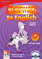 Playway to English (Second Edition) 4 Activity Book with CD-ROM
