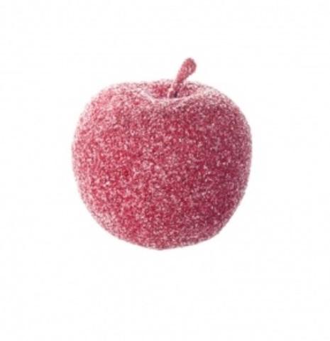 Набор яблок засахаренных на проволоке 6шт., диаметр: 6см, цвет: красный