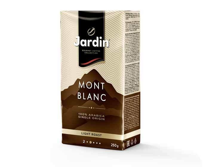 Кофе молотый Jardin Mont Blanc, 250 г