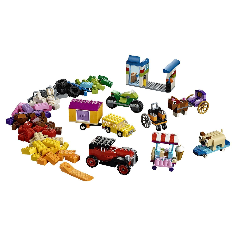 Конструктор LEGO Модели на колёсах LEGO Classic (10715)