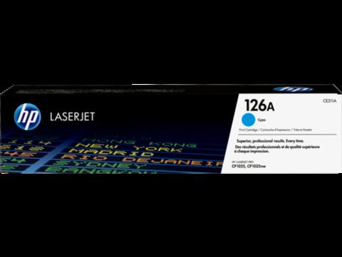 Оригинальный картридж HP CE311A (№126A), голубой