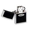 Зажигалка Zippo №205 Zippo Oval с покрытием Satin Chrome™, латунь/сталь, серебристая, матовая