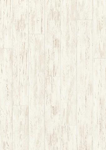 White brushed Pine planks   Ламинат QUICK-STEP UF1235