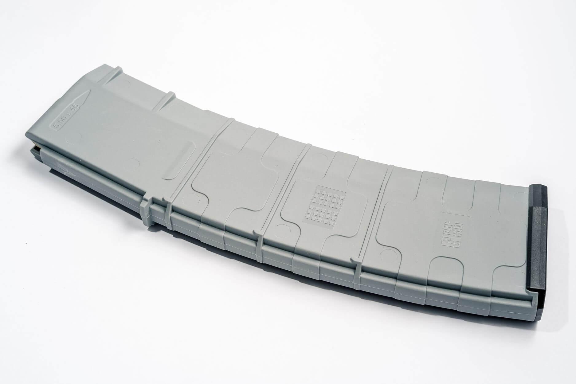 Магазин Pufgun для AR-15 на 45 патронов, серый