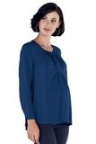 Блузка для беременных 09786 синий