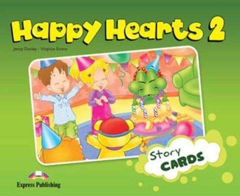 Happy Hearts 2. Story Cards. Сюжетные картинки к учебнику. (international)