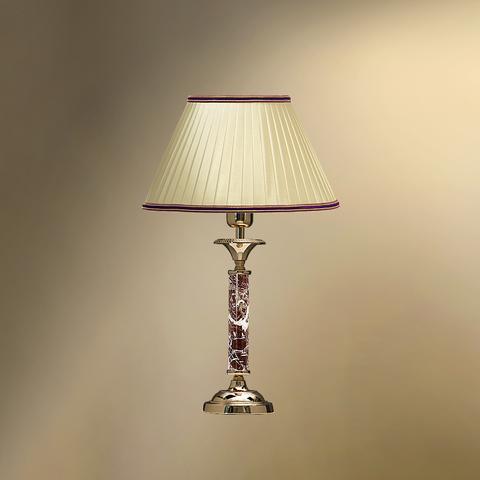 Настольная лампа с абажуром 23-12.57/8757Ф СТЕЛЛА