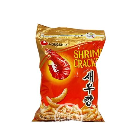 Чипсы NONGSHIM со вкусом креветок не острая 400г Nongshim Корея