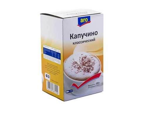 Напиток кофейный ARO Капучино классический, 125г (Аро)