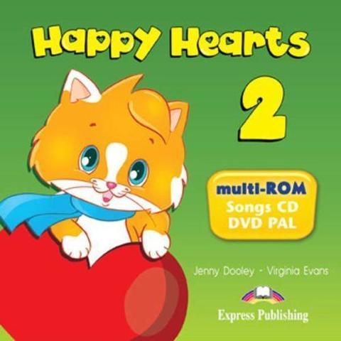 Happy Hearts 2. Multi-Rom Pal. CD с песнями и видео