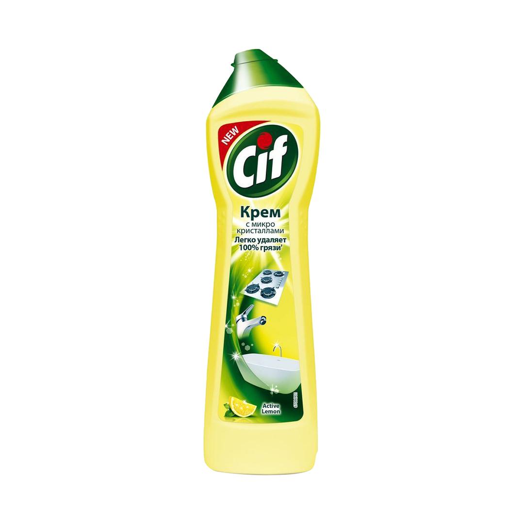 СИФ чист.крем Лимон 500мл