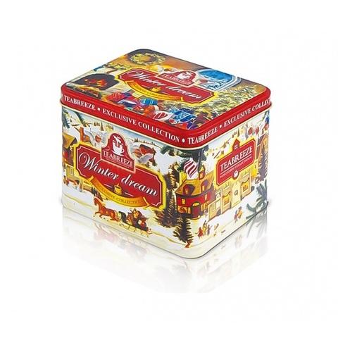 СЗН НГ Подарочная музыкальная шкатулка Winter Dream  (чай Волшебная ночь ) 1кор*12бл*1шт, 100г
