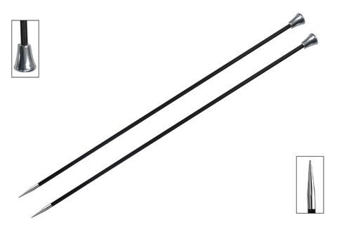KnitPro KARBONZ Спицы прямые 25 см