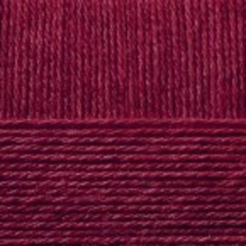 Купить Пряжа Пехорка Кроссбред Бразилии Код цвета 323-Т. бордо | Интернет-магазин пряжи «Пряха»