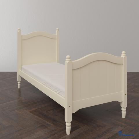Классическая односпальная кровать. Базовая комплектация