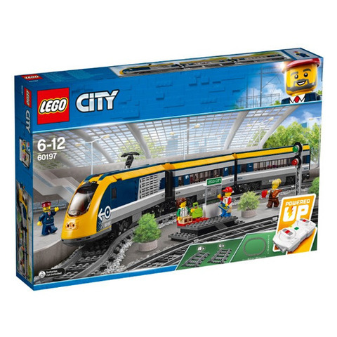 Lego konstruktor City  PASSENGER TRAIN 60197