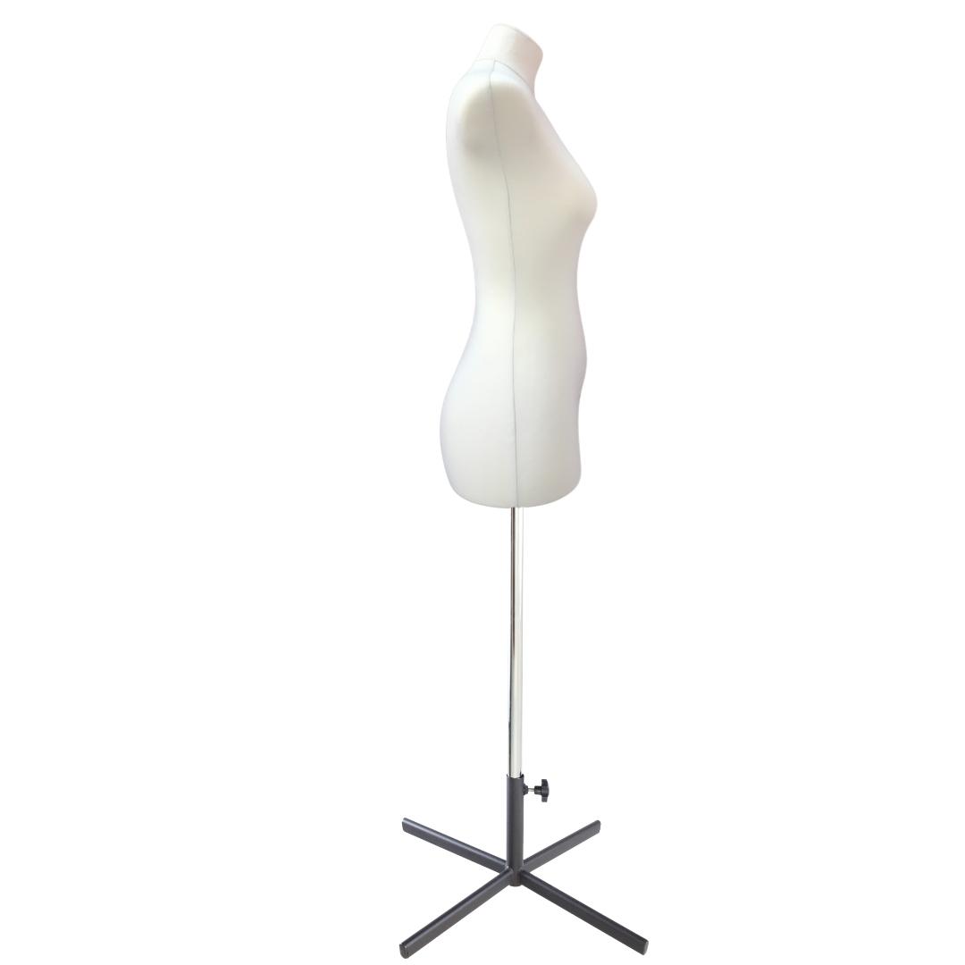 Манекен портновский Кристина, комплект Про, размер 44, тип фигуры Песочные часыФото 3