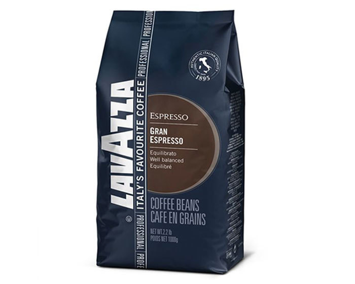 Кофе в зернах LavAzza Gran Espresso, 1 кг (Лавацца)
