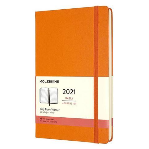 Ежедневник Moleskine Classic Large 130х210мм 400стр. оранжевый