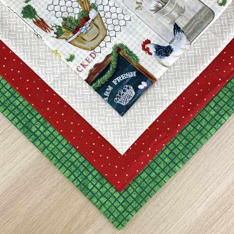 Набор ткани из 4х отрезов №133 (арт. NT133)