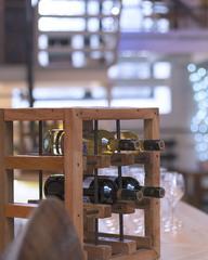 Подставка для вина из индонезийской лодки, 40х25х40 см, Индонезия