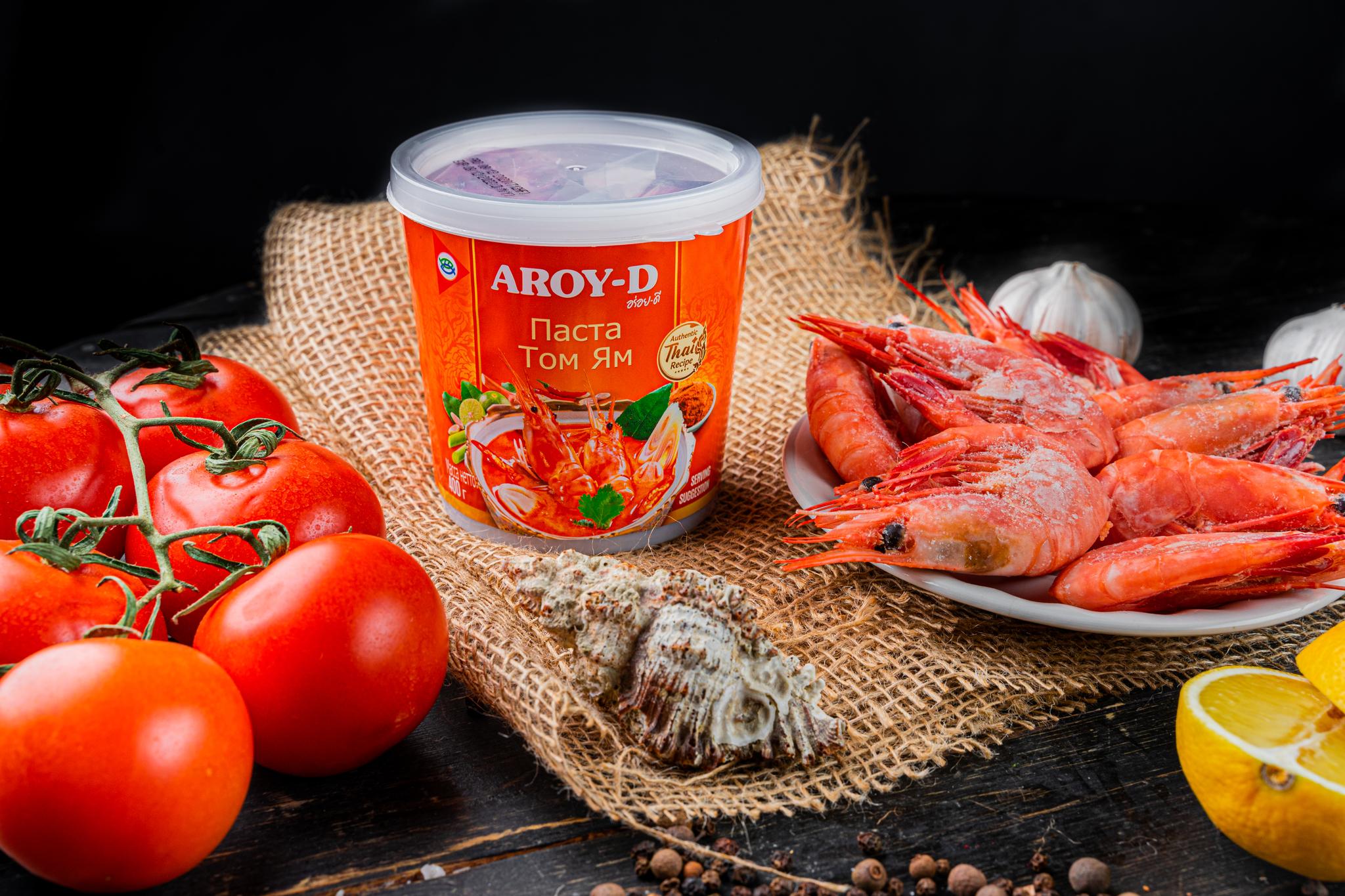 """Паста для супа Том Ям """"AROY-D"""""""
