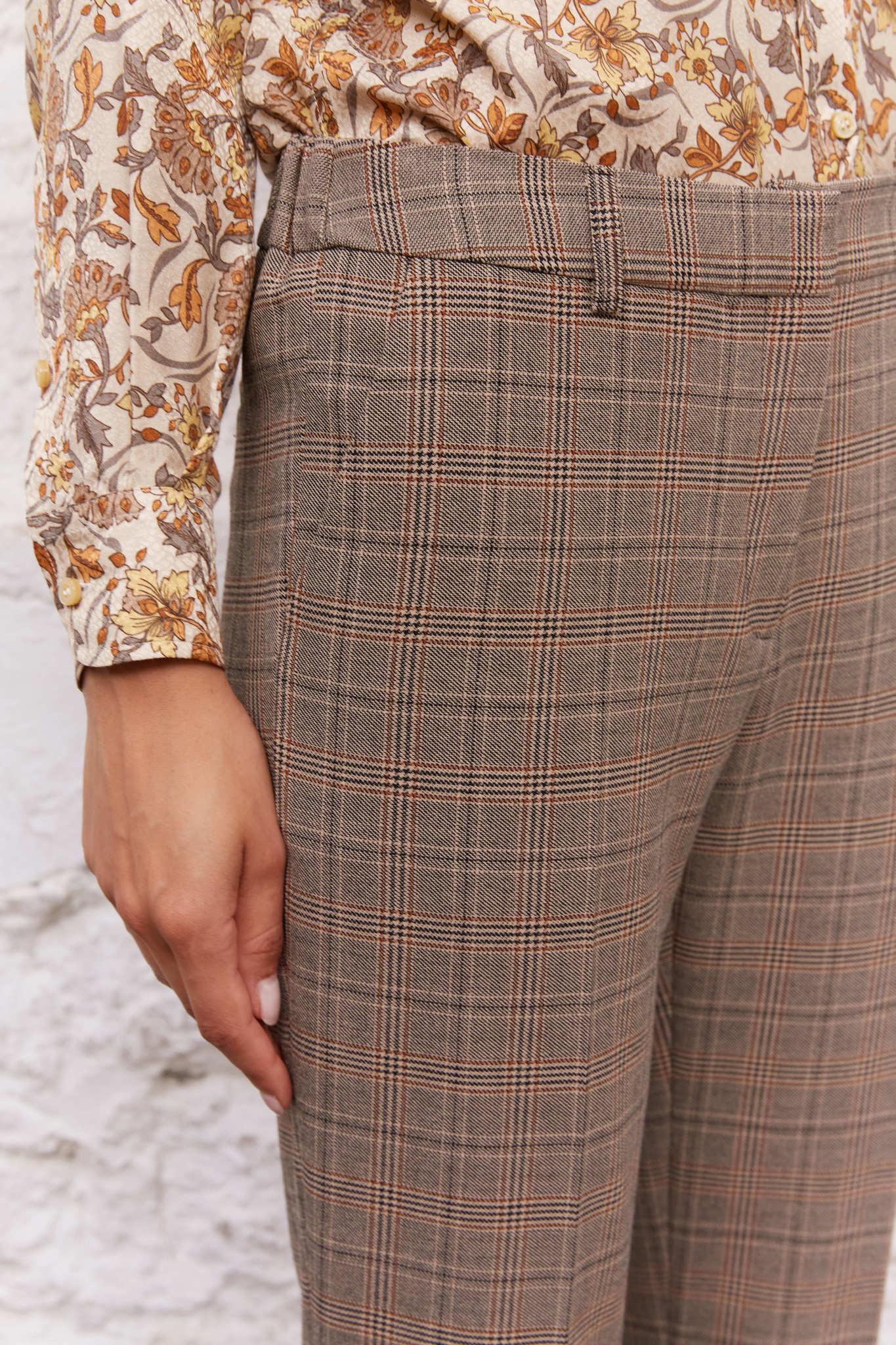 ELISIO - Прямые брюки из ткани