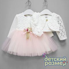 Платье с болеро (брошь)