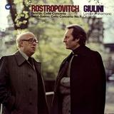Mstislav Rostropovich, London Philharmonic Orchestra, Carlo Maria Giulini / Dvorak: Cello Concerto & Saint-Saens: Cello Concerto No. 1 (2LP)