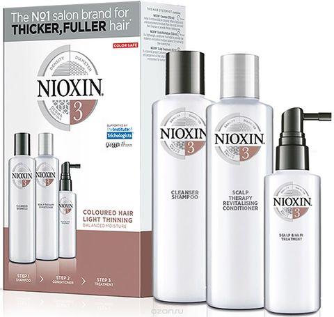 Набор (Система 3),NIOXIN ,150мл(шампунь)+150мл(кондиционер)+50мл (маска)