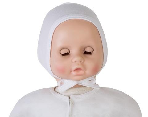 Чепчик для новорожденного (интерлок)