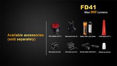 Фонарь с фокусом Fenix FD41 900 lm