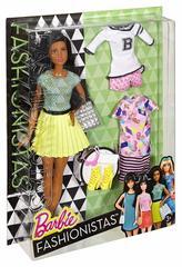 Barbie Брюнетка Желтая юбка