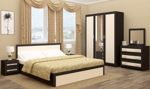 Модульная спальня Зиля ЛДСП (раскладка МДФ)