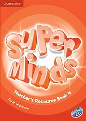 Super Minds Level 4 Teacher's Resource Book with Audio CD