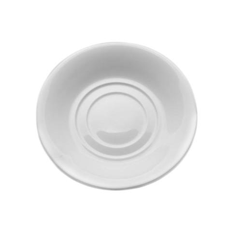Блюдце Wilmax фарфоровое белое 140 мм (артикул производителя WL-996099)