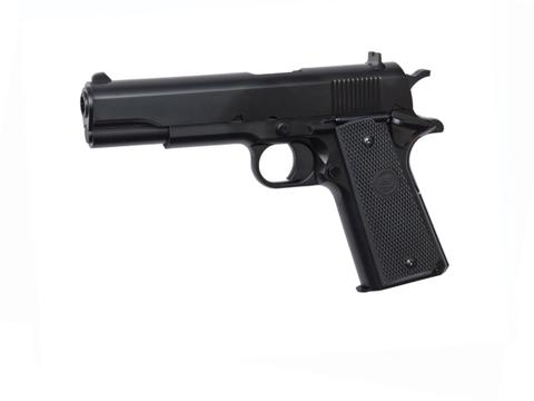 Страйкбольный пистолет STI M1911 пластиковый, пружинный (артикул 16845)