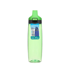 Бутылка для воды с кнопкой Sistema