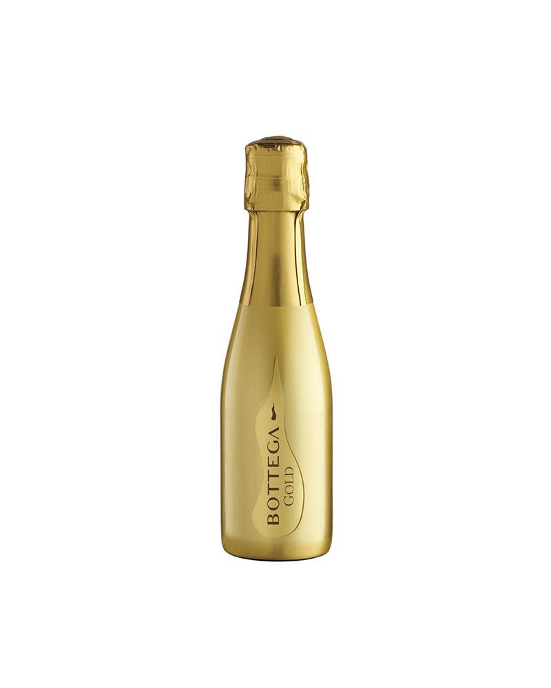 Вино Bottega Gold Белое Игристое Просекко Брют 11%, 0,2л