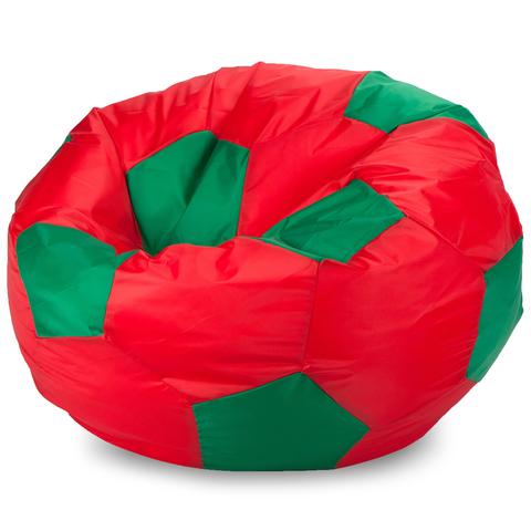 Пуффбери Внешний чехол Кресло-мешок мяч  XL, Оксфорд Красный и зеленый
