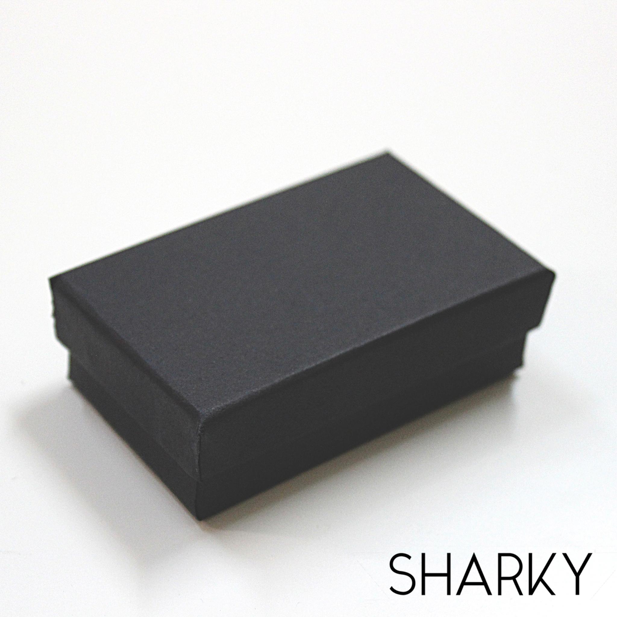 Черная матовая коробочка подарочная / Подарочная упаковка Отрадное