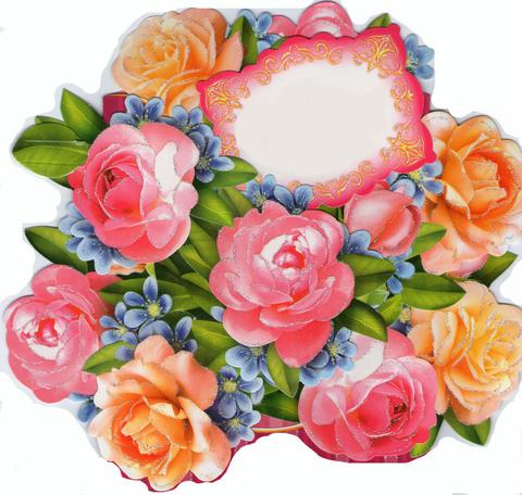 Печать на вафельной бумаге, Цветы 9
