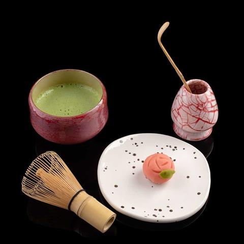 Японский чай матча sweet matcha с коричневым рисом, 50 гр.