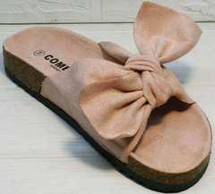 Розовые сандали шлепанцы ортопедические Comer SAR-15 Pink.