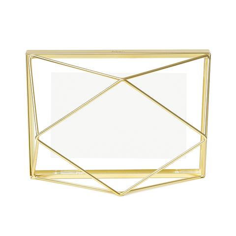 Фоторамка Prisma 10х15 золотистая