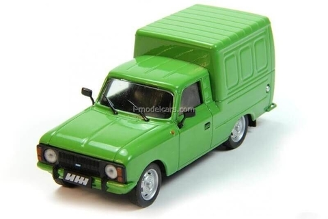 IZH-2715 1982-2001 green 1:43 DeAgostini Auto Legends USSR #187