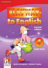 Playway to English (Second Edition) 4 Cards Pack