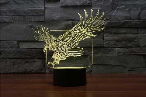 3D ночник Орёл
