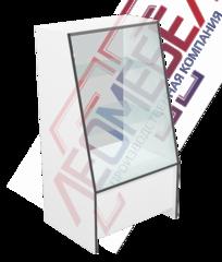 В-40-60  Витрина торговая с наклонным стеклом